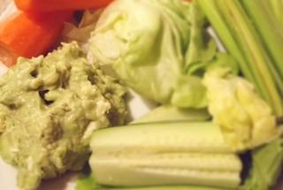 avokadova so zeleninou