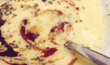 karfiolovo zemiakova polievka